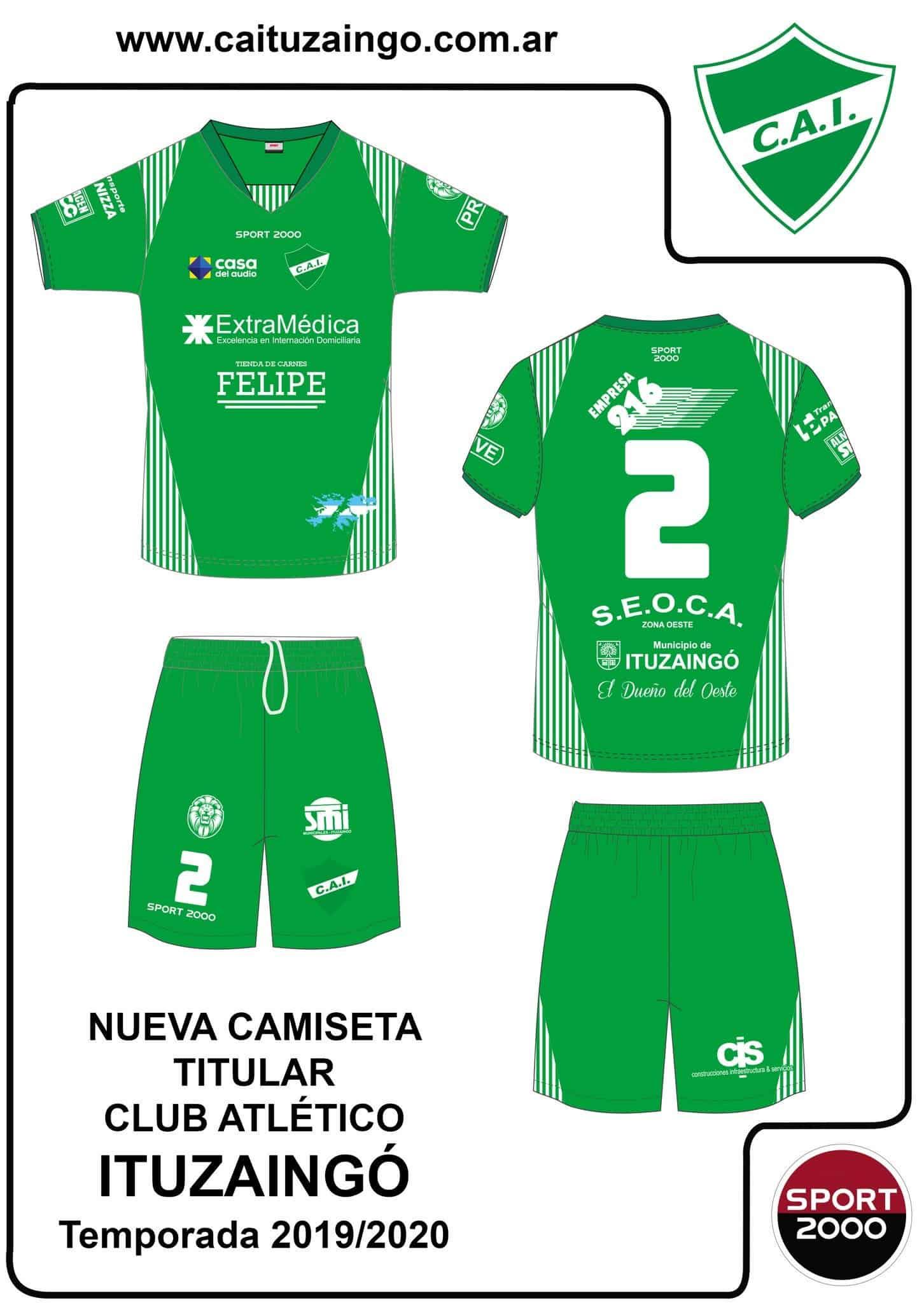 Ituzaingó sigue ganando amistosos y ya se conoce el fixture y la nueva camiseta del CAI 6