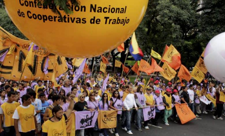 La Confederación Nacional de Cooperativas de Trabajo cumplió 10 años y lo festejó en el Bauen 2