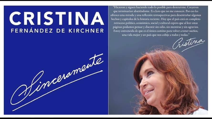 """Cristina Kirchner presenta su libro """"Sinceramente"""" 3"""