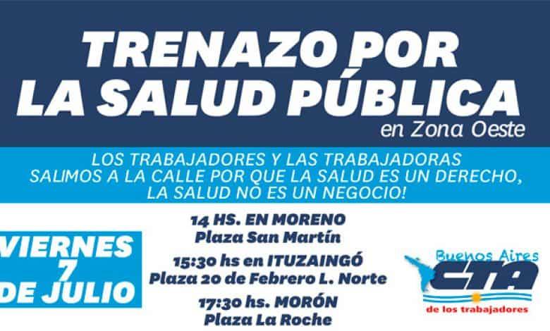 Mañana la CTA convoca a una marcha por el hospital de Ituzaingó 1