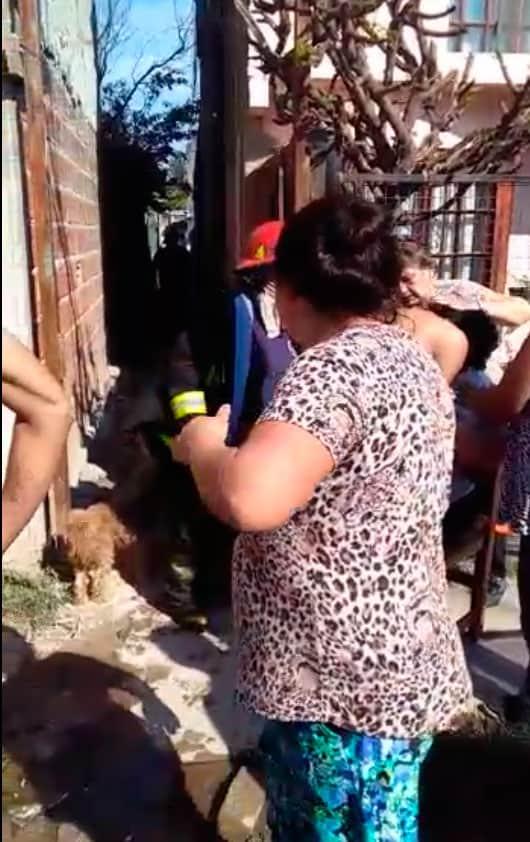 Dos tragedias en una semana: Se incendió una vivienda en el mismo pasillo donde murió Romelia Dos Santos 3