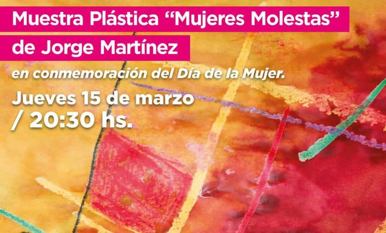 """Muestra plástica """"Mujeres Molestas"""" en el ETI de Ituzaingó 2"""