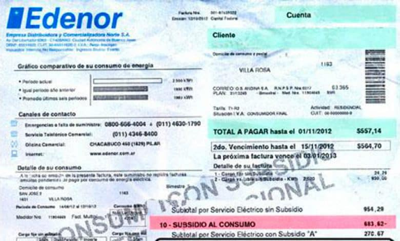 Urgente: Le ordenan a Edenor facturar sin los aumentos 1