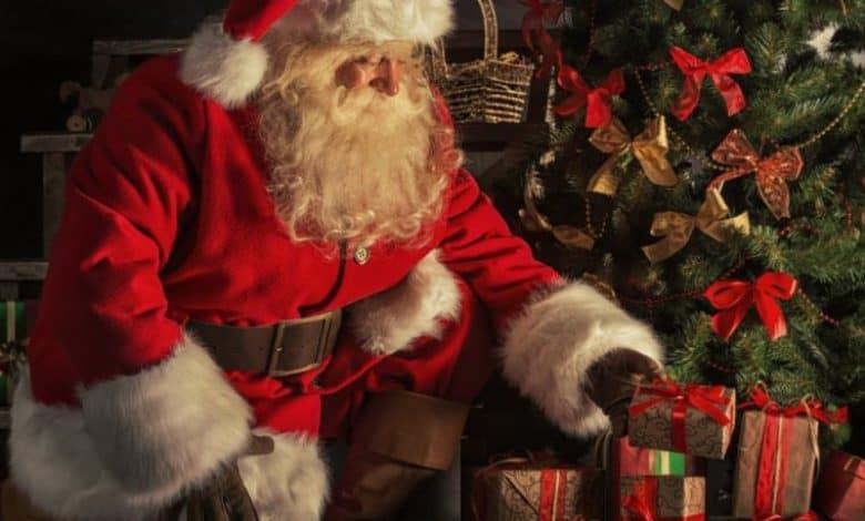 "Llega Papá Noel a la Plaza ""20 de Febrero"" 1"