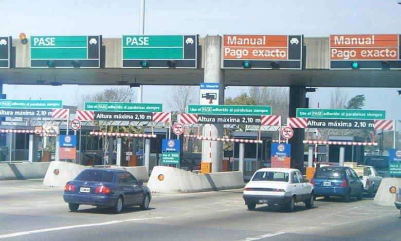 Vuelven a aumentar los peajes a Capital: $65 en la Autopista del Oeste y $85 la 25 de Mayo 1