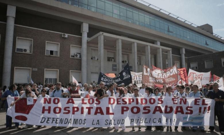 Nuevos despidos en el Hospital Posadas 2