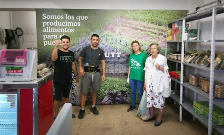 Encontraron a Teresa, la abuela de las berenjenas y se reunió con los horticultores 2