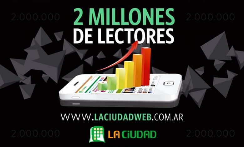 La Ciudad alcanzó los 2 millones de lectores y se consolida como líder en Zona Oeste 1