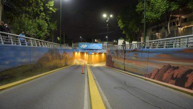 Quedó terminado el mural en el Tunel de Ratti 8