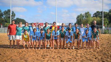 Ituzaingó puso primera en el futbol playa femenino 1