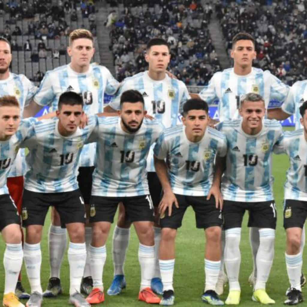 La Selección Sub 23 se quedó con el primer amistoso 2