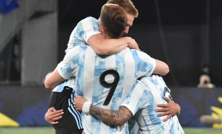 La Selección Sub 23 se quedó con el primer amistoso 1