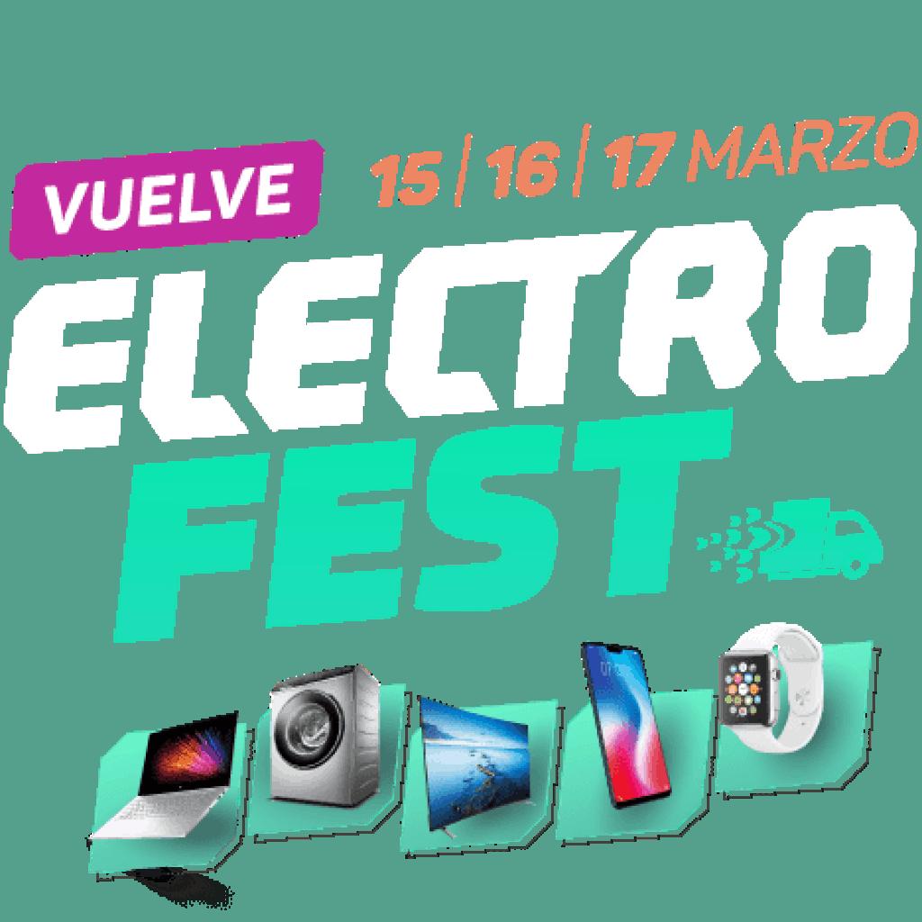"""Arrancó """"Electro Fest"""" con rebajas de hasta 35 % y 18 cuotas sin interés 2"""