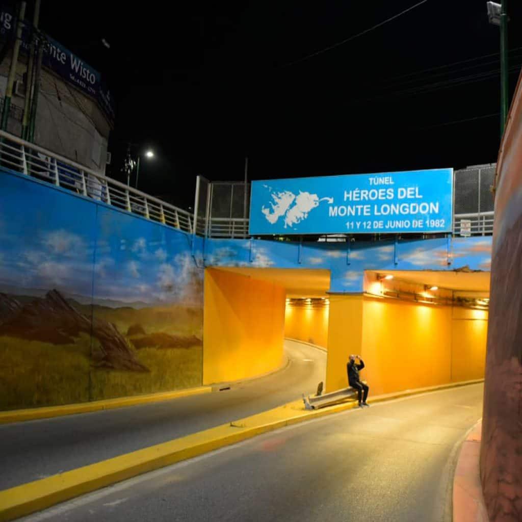 Quedó terminado el mural en el Tunel de Ratti 3