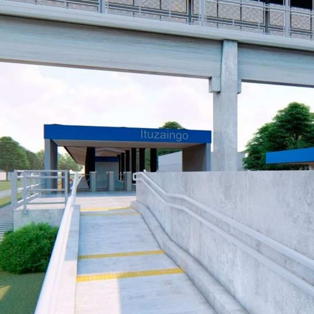 Ituzaingó: En 20 días se cierra la estación del tren y comienzan las obras de remodelación 2