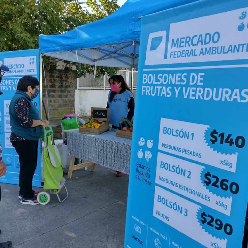 Llega hoy a Merlo, Castelar Sur y William Morris el Mercado Federal Ambulante 3