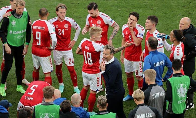 El DT de Dinamarca aseguró que UEFA presionó para reanudar el partido ante Finlandia 1