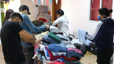 "Se lanzó la ""campaña de abrigo"", destinada a l@s vecin@s más afectad@s de Morón 24"