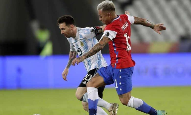 Argentina no pudo ganar en su presentación en la Copa América 1