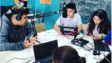 Ituzaingó: Una escuela secundaria organiza talleres de radio, publicidad y periodismo para sus propios alumnos 17