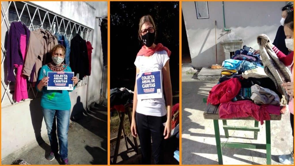 Red Cáritas: Una Capilla en Udaondo necesita donaciones para las familias del barrio 2