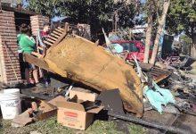 Se incendió una vivienda en San Alberto y el barrio organiza una campaña solidaria 14