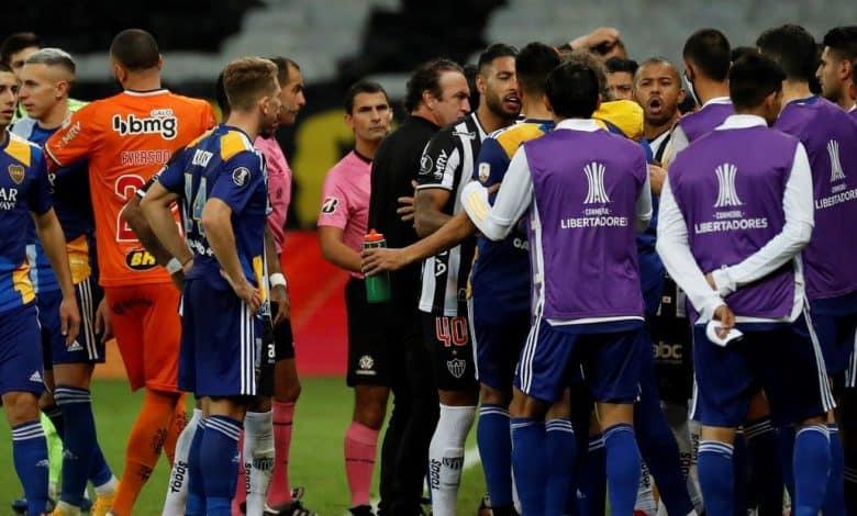 Escándalo y eliminación de Boca por Copa Libertadores 1