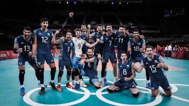 La selección argentina de vóley se metió en cuartos de final 26