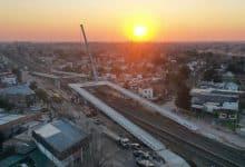 Ituzaingó: terminó el montaje de los puentes en la barrera ochenta 21