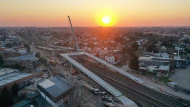Ituzaingó: terminó el montaje de los puentes en la barrera ochenta 11